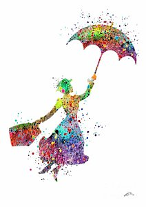 mary-poppins-2-watercolor-print-svetla-tancheva